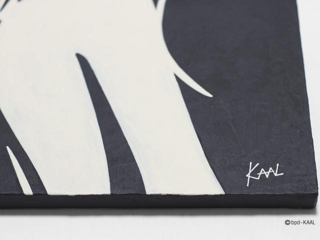 KAAL モノトーンのスタイリッシュなインテリアアート