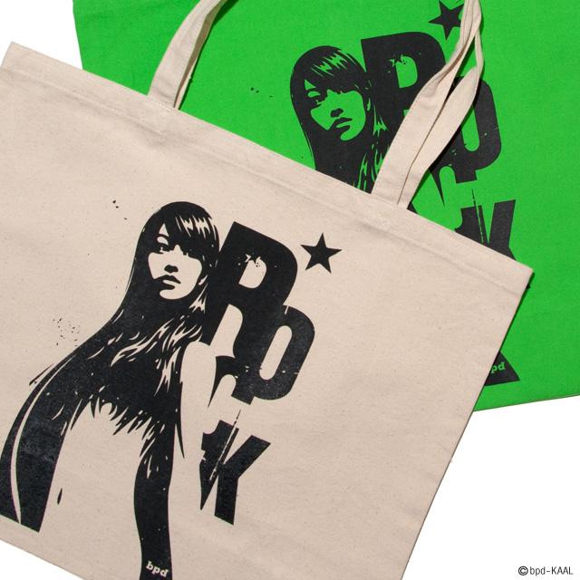 KAAL アート作品 Venus Rock ヴィーナス・ロック 大きめキャンバス トートバッグ 商品詳細2