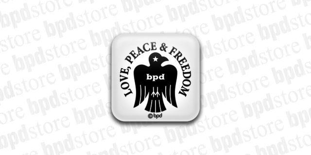bpd kaal bird emblem magnet