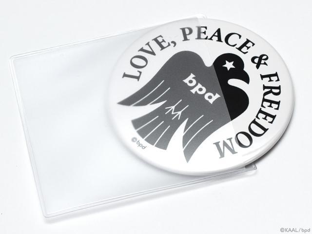 bpd Bird エンブレムのコンパクトな缶ミラー