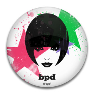 bpd kaal mix and match woman face fashion illustration mirror