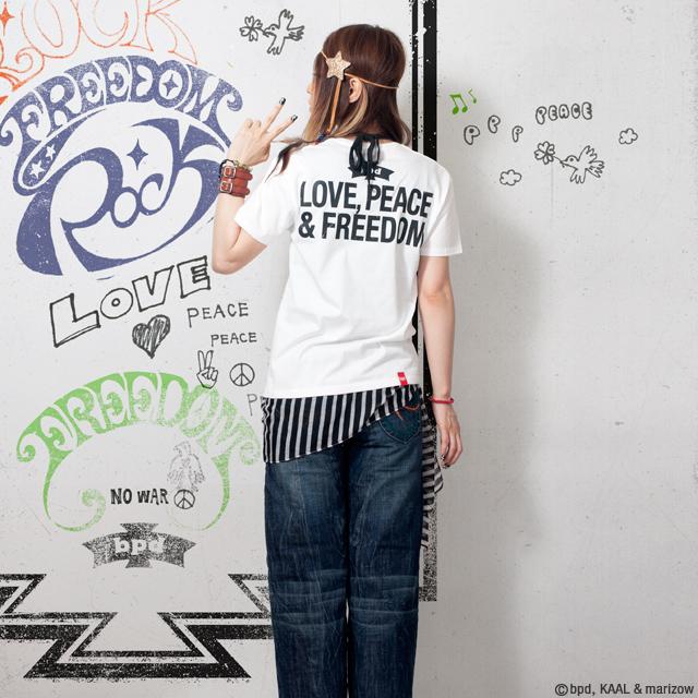 Rock Tシャツ レディース モデル