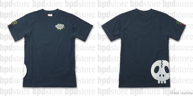 ドクロ ROCK デザインTシャツ bpd-T-23