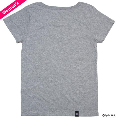 モード系イラスト mix and match レディースTシャツ カットソー 背面