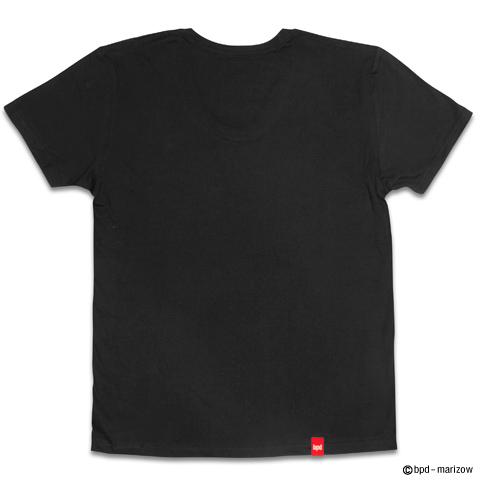 ギター レジェンド ロックでかわいいガイコツ デザインTシャツ 背面写真